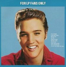 ELVIS PRESLEY - FOR LP FANS ONLY - CD ALBUM 10 TITRES - 1989