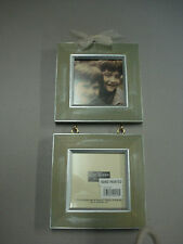 NIB Burnes Of Boston Rare Woods Picture Frame Meadow Woods Willow Double #92C