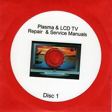 Repair Manuals for 900 LCD & Plasma TVs plus unusual self employment idea