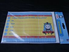 THOMAS AND FRIENDS party invitations pack of 20