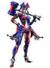 "BATMAN - 10"" Harley Quinn Variant Play Arts Kai Action Figure (Square Enix) #NEW"