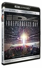 INDEPENDENCE DAY (ID4)  (4K ULTRA HD) - Blu Ray -  Region free