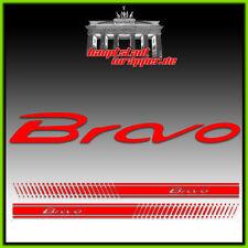 Fiat Bravo Abarth 500 EVO Strisce laterali, Adesivo, Scritta, Estetico NUOVO
