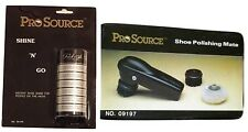 NEW Pro Source Shoe Shine Polishing Kit - All Types of Shoes -GreenParStore E434