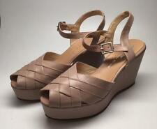 Re-Mix Classic Footwear Vintage Style Shoes - Lido - Taupe- Size 8