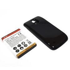 BATTERIA POTENZIATA 4300mAh + COVER MAGGIORATA NERA x Samsung Galaxy S4 mini