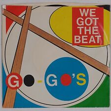 THE GO GO's: We Got the Beat USA IRS Classic 45 VG+