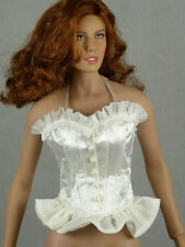 1/6 Scale Phicen, Hot Toys, Cy Girl, Kumik, Hot Plus - Sexy Female White Corset