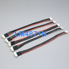 """5pc JST-XH Balance Charger Extension Wire 8"""" 4S 14.8V Lipo Battery Turnigy Zippy"""