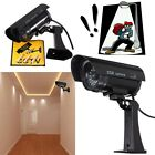 Home Surveillance Security Dummy IR Simulation Camera CCTV Flashing LED Light