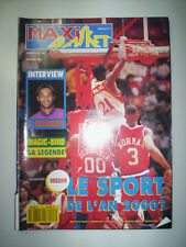 MAXI BASKET N°103 1992 COUV DOMINIQUE WILKINS / INTERVIEW OCCANSEY