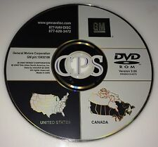 PONTIAC GRAND PRIX CHEVROLET CORVETTE NAVIGATION DISC DVD CD 15932106 NAV DISK