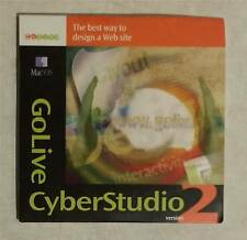 GoLive CyberStudio2 Web Design for Apple Mac with Serial Number - free ship