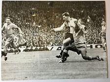 photo press football  Le Havre-Sochaux 1959  Cup de France         152