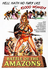 Battle Of The Amazons (2015, DVD NEUF)