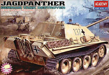 Academy German WWII JAGDPANTHER 1 Tank (MOTORIZED) model kit 1/25