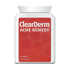 Clear DERM Acné Tabletas, el No. 1 Acné & Spot Treatment 1-a-day!!