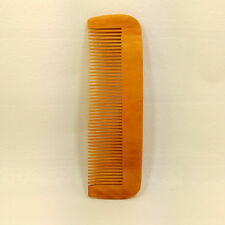 Hair Engraved Natural Peach Wood Wooden Comb Anti-Static Beard Comb Pocket Comb