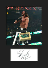 SETH ROLLINS #2 (WWE) Signed Photo A5 Mounted Print - FREE DELIVERY