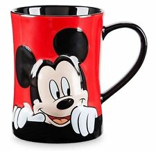 NEW DISNEY WORLD Store Mickey Mouse Peekaboo Mug Cup NWT So CUTE!