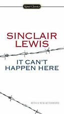 It Can't Happen Here by Sinclair Lewis (2014, Paperback) Brand New Free Shipping