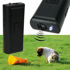 Ultrasonic Dog Pet Aggressive Repeller Train Safe Humune Stop Barking Training