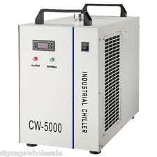 CW-5000BH Industrial Water Chiller for a Single 5KW Spindle  Equipment.220V