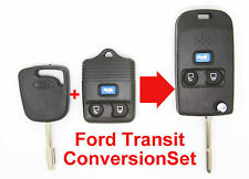 Fits FORD Transit Transit Connect CONVERSION SET Folding Key and FOB in One