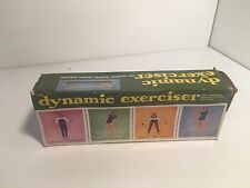 Vintage Retro Dynamic Tension Exerciser Complete in Original Box