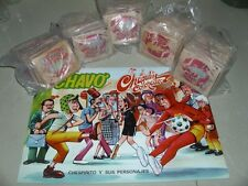 VINTAGE Lot 5-Package/of100 Unopened Cards+Empty Album El Chavo/ 70s # 10