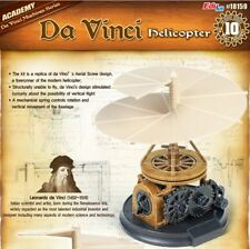 Academy Plastic Model Kit Da Vinci Machines Helicopter #18159