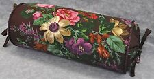 Pillow made w/ Ralph Lauren Brittany Purple Plum Floral Fabric N trim cord NEW