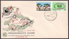 1962 COMMONWEALTH GAMES ON WESLEY FIRST DAY COVER UNADDRESSED (RU1167)