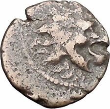 ANTOCHOS VII Seleucid Ancient Greek Coin Nemean Lion Hercules Labor i47572