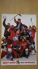 B73 - Aushangfoto (je 42x59 cm) MIGHTY DUCKS Das Superteam
