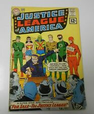 JUSTICE LEAGUE OF AMERICA #8 GD+ Wonder Woman Green Lantern 1st 12 Cent Issue