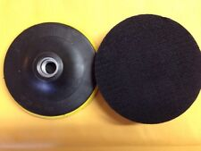 """2x Velcro Backing pad polishing Pad for Angle Grinders with Standard 5/8"""" Thread"""
