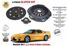POUR MAZDA RX7 1.3 13B WANKEL TURBO 91-01 DISQUE EMBRAYAGE BOITIER