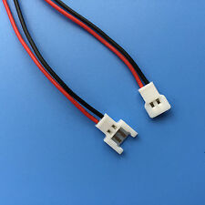 2pairs JST-DS LOSI 2-Pin Connector plug male female with Wire