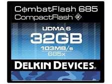Delkin Devices 32GB CompactFlash 685 UDMA Memory Card