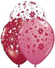 Hearts and Daisy Latex Balloons Party Decor Photo Background  Balloon Sculpture