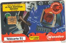 Télécarte - WANADOO (A3055)