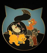 LE 50 Fantasy Berlioz Toulouse Aristocats Ratatouille Lucifier Disney Pin Marie