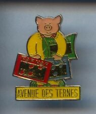 RARE PINS PIN'S .. ANIMAL COCHON PORC PIG NAF NAF PARIS 75 ¤2T