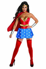 Deluxe Sexy Wonder Woman Costume Superhero Adult Size Small