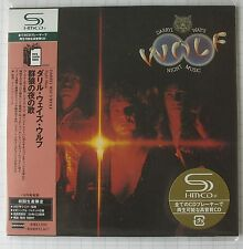 DARRYL WAY´S WOLF - Night Music JAPAN SHM MINI LP CD OBI NEU UICY-93828