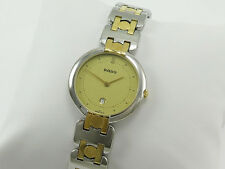 RADO STAINLESS STEEL WRISTWATCH with DATE 160.3568.2