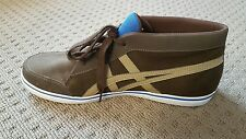 asics Renshi men's half cab suede and leather trainer H235y EUR 45( US 11)