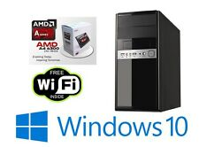 Ultimate PC Trident X-FAST 3.7GHz Dual Core 500GB 8GB Computadora De Escritorio