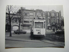 B233 - 1950s ANTWERP CITY TRAMWAYS - TRAM No524 PHOTO Belgium